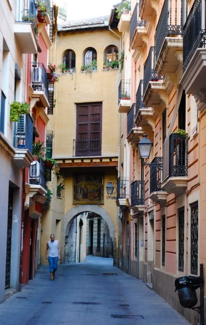 Barrio del Carmen, a historic neighborhood in Valencia, Spain by Erin Thibeau.