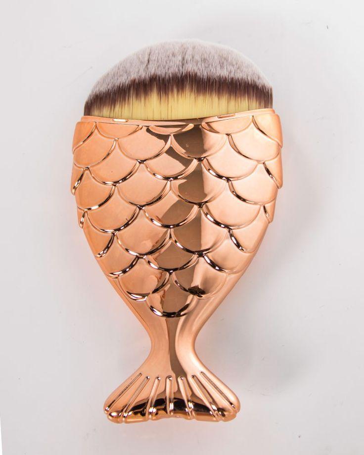 Mermaid Salon   Chubby Mermaid Brush Rose Gold  - Tragic Beautiful buy online from Australia