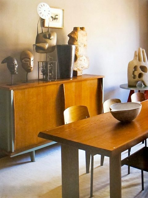 Cultured Home --- Jean Prouvé & Charlotte Perriand.