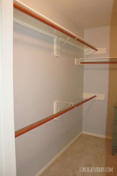 new closet paint - SW Silverpointe