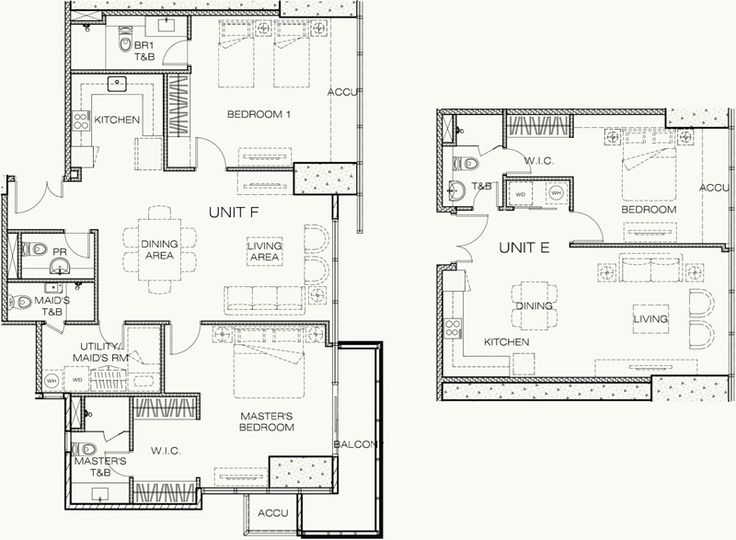 9 best west gallery place unit floor plans images on for 1 bedroom condo floor plans