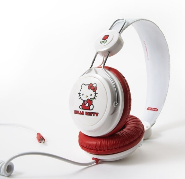 YOU HAVE THESE...Hello Kitty headphones