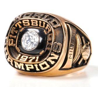 "1971 Pittsburgh Pirates ""World Series"" Championship Ring ..."