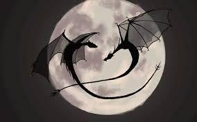 dragon silhouette - Google-haku