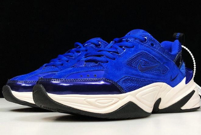 Contribuente materasso Bandito  Buy Nike M2K Tekno Racer Blue Sneakers | Blue sneakers, Nike, Nike air  monarch