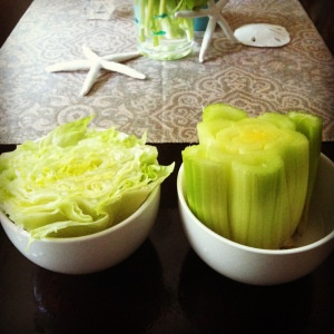 Regrowing Celery and Lettuce from scratch!