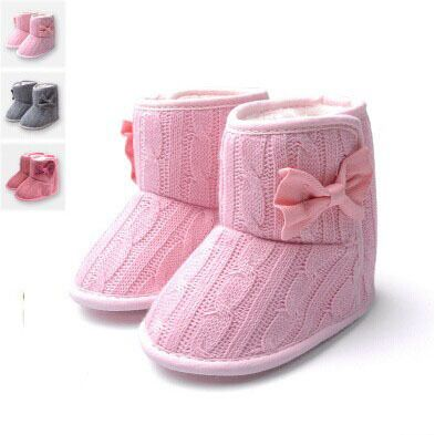 Toddler Knited Winter Faux Fleece Crib Snow Boots Kid Baby Shoes Bowknot Woolen Yam Fur Knit Shoes Firsst Walkers #>=#>=#>=#>=#> Click on the pin to check out discount price, color, size, shipping, etc. Save and like it!