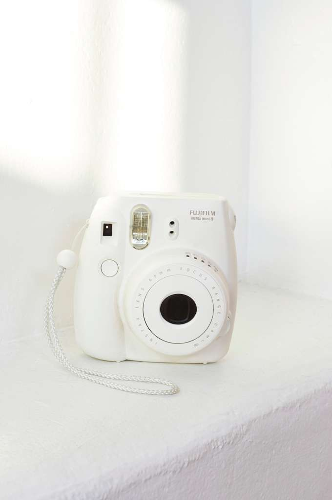 Fujifilm Instax Mini 8 Instant Camera - White - Tech   Americana   Back In Stock   Summer Essentials   Play, Girl   Festive Fiend   Tech Nerd   All   For your BFF   Under $100   Lily   Mia   Accessories + Sandals