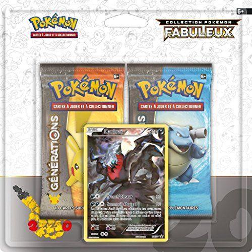 Pack pokémon générations juin 2016 2 boosters + 1 carte promo Darkrai: 3 Cet article Pack pokémon générations juin 2016 2 boosters + 1…