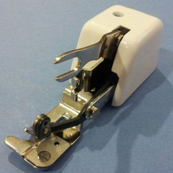 Prensatelas símil overlock para máquina recta (corta la tela!!) Con las Manos en la Aguja: Prensatelas Específicos II