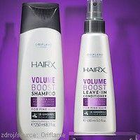 Péče pro jemné #vlasy #Oriflame  OBJEMOVÝ #ŠAMPÓN #HAIRX  Lehký šampón jemně čistí a dodává objem zplihlým vlasům. Obsahuje Ceramide Complex, který pomáhá posílit vlasová vlákna a tak zlepšit objem a tvar účesu.  OBJEMOVÝ NESMÝVACÍ #KONDICIONÉR #HAIRX  Nesmývací kondicionér zlepšuje poddajnost vlasů a zároveň efektivně zvyšuje objem. Lehoučké složení s Ceramide Complexem dodává vlasům objem a pružnost, pomáhá udržet vlasy pod kontrolou a usnadňuje rozčesávání.  www.krasa365.cz