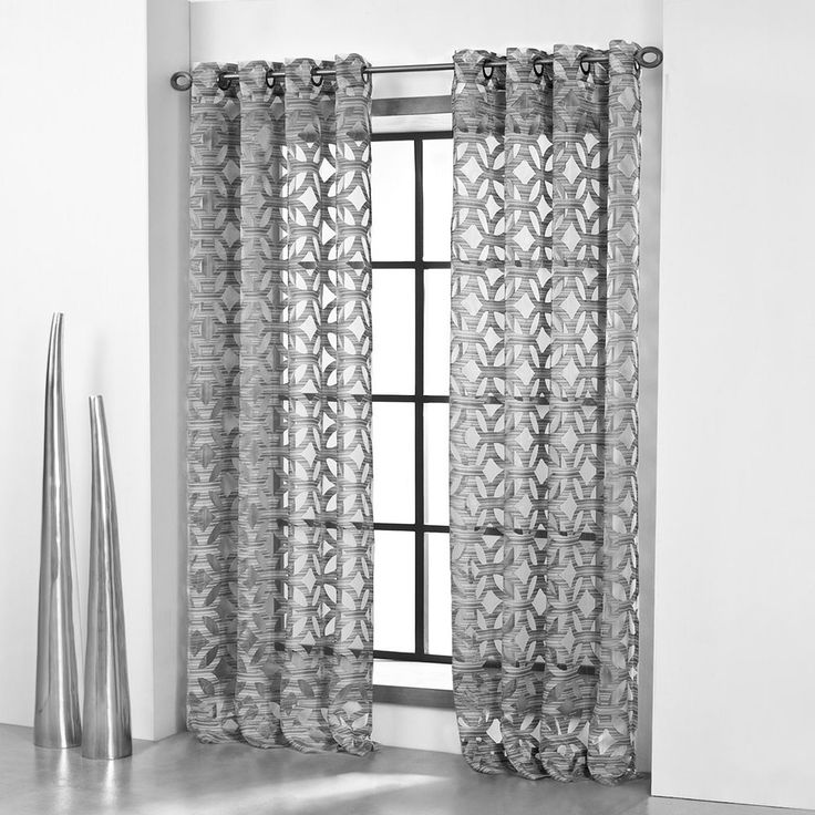Airy Modern Window Panels From Simply Vera Vera Wang Keep