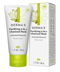 Derma E purifying charcoal mask