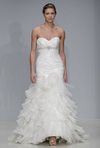 Alfred Angelo Wedding Dresses Spring 2013: Beautiful Brides in Black & White