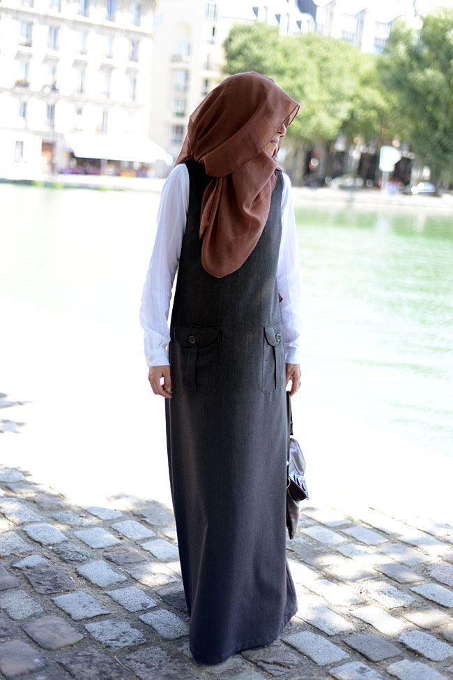 Mode pour femmes pudiques et musulmanes Robe longue mastour Robe musulmane Abaya