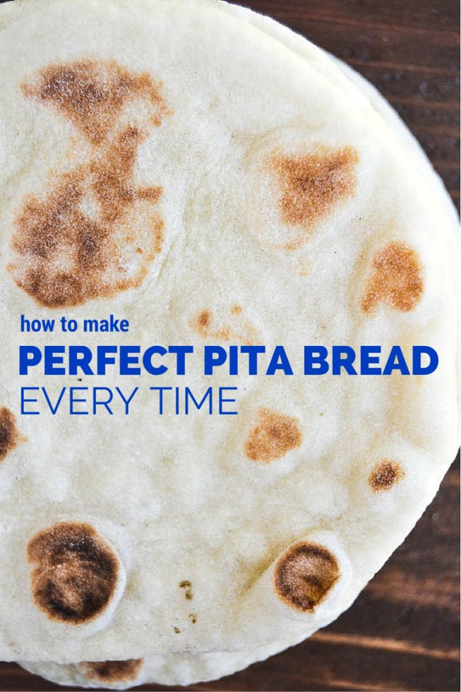 How to Make Perfect Pita Bread Every Time, a step by step tutorial ~ it's easier than you think, and you'll never go back to the stuff in bags, guaranteed!