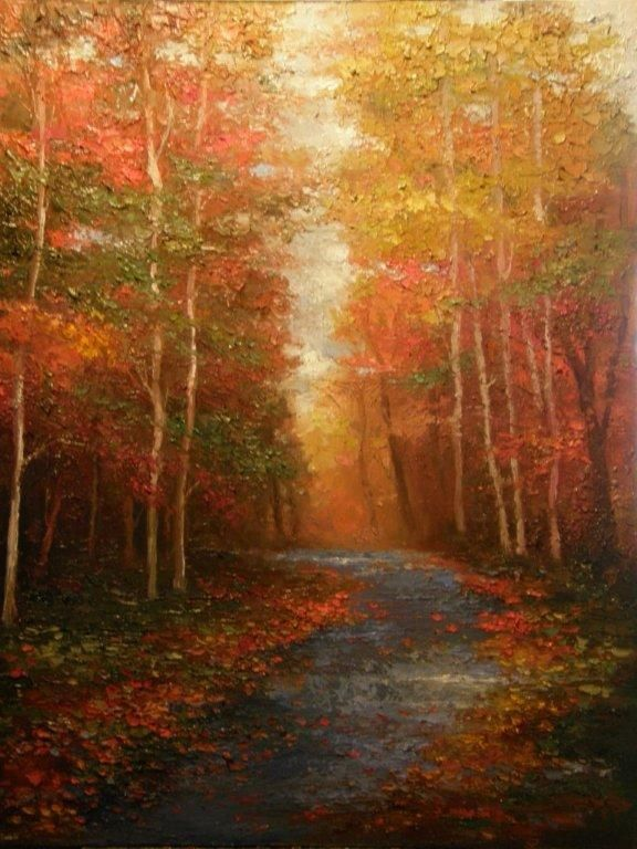 """A Walk to Anywhere"" by Peggy Ann Thompson - Artist, Painter"