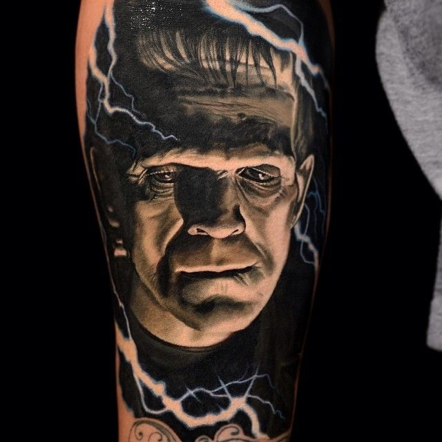[Tattoo By: @nikkohurtado]  Frankenstein (1931)