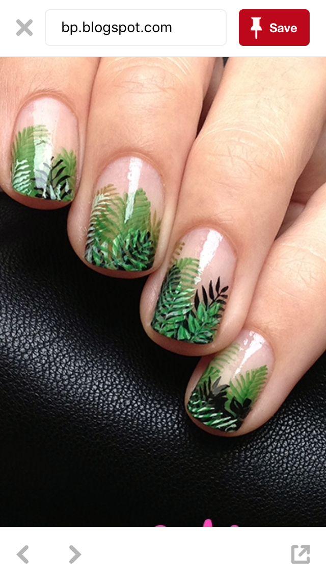 Fern nails