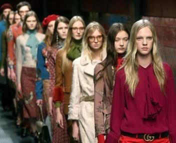 Nude look e stile androgino per la nuova collezione Gucci