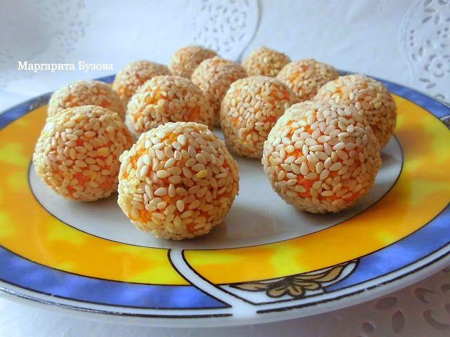 Готовлю на здоровье!: Закусочные морковные шарики