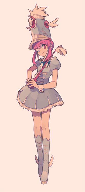 ✧ #characterconcepts ✧ Kill la Kill - Nonon Jakuzure omg she is my favorite character