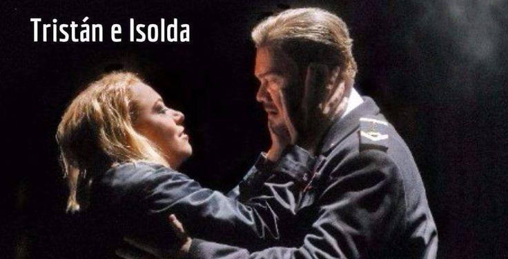 Este sábado única función de la ópera Tristán e Isolda #cine
