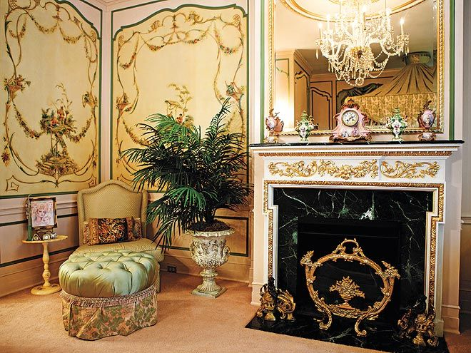 Inside ivana trump s over the top townhouse donald o 39 connor master bedrooms and an Trump home bedroom furniture