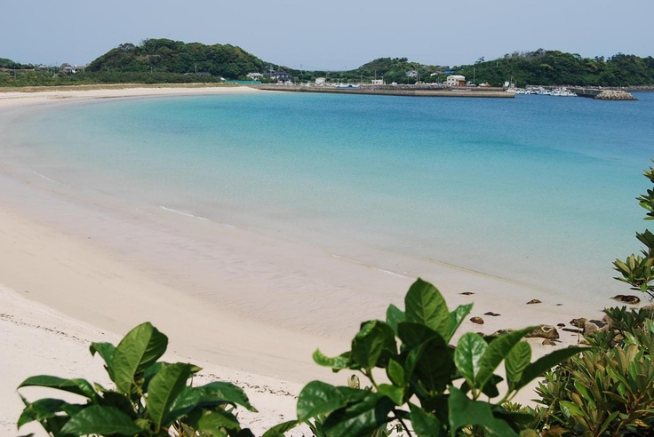 錦浜 壱岐  Nishikihama beach in Iki