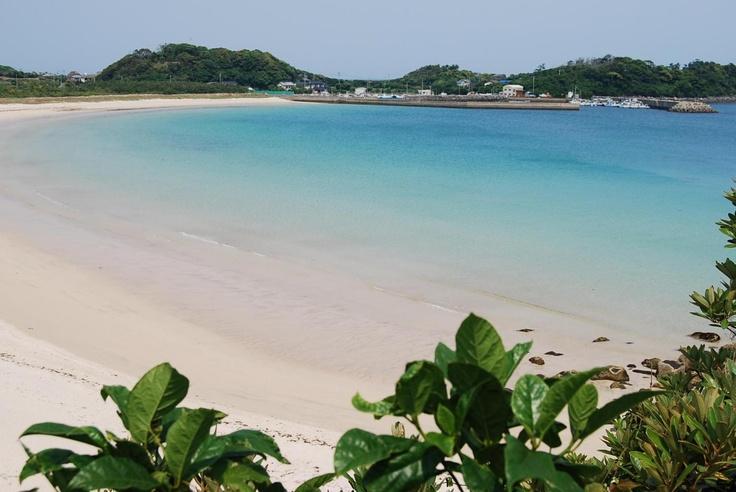 錦浜 壱岐  Nishikihama beach in Iki