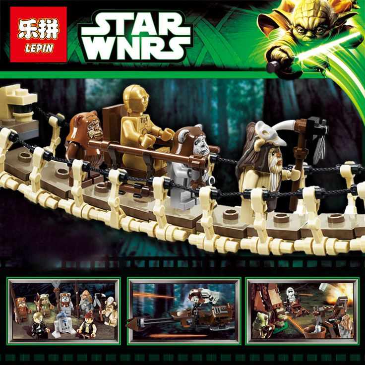 Free shipping 1990pcs Lepin 05047 Star Wars Ewok Village Building Blocks Juguete para Construir Bricks Toys Compatible 10236 #>=#>=#>=#>=#> Click on the pin to check out discount price, color, size, shipping, etc. Save and like it!