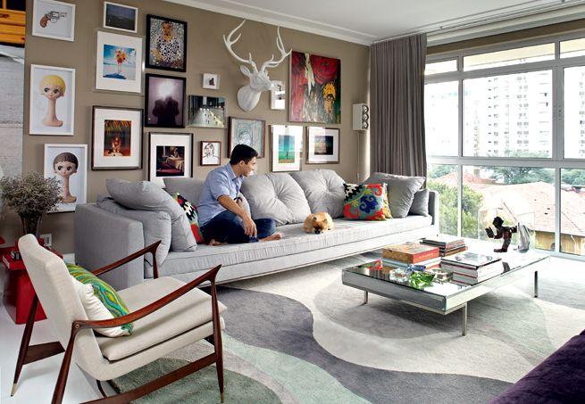 Decoração de Sala com tapetes – Fotos, Como combinar