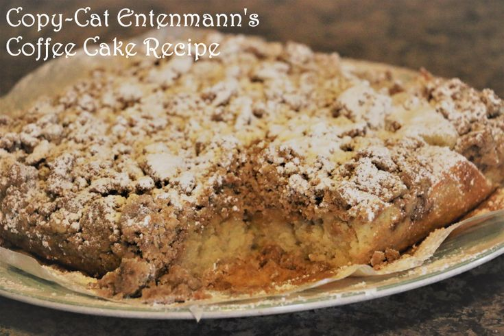 Copycat entenmanns crumb coffee cake recipe with images