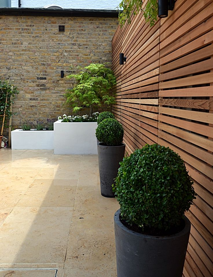 Jura Limestone paving patio Clapham London