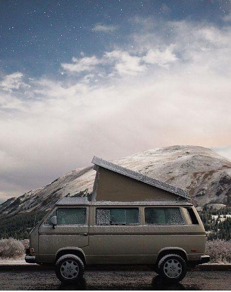 Rocky Mountain camper van rental. Eurovans rentals and ...