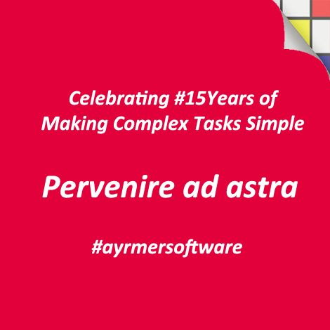 We are celebrating #15years of making complex tasks simple this Sunday, 1st October 2017 enormously #proud of what we have achieved, but are nothing without our clients #thankyou 👏  #bespokesoftware #softwaredevelopment #webdevelopment