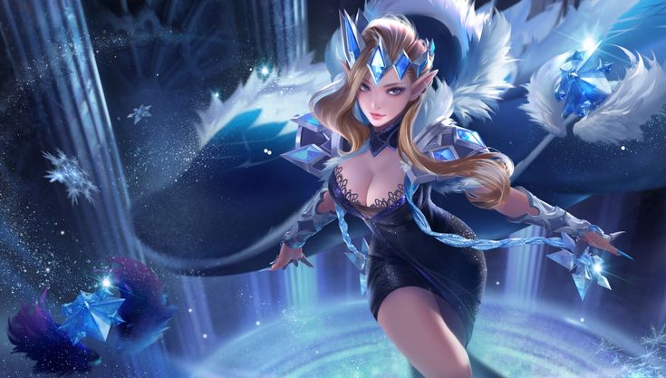 ArtStation - The snow queen, yue yue