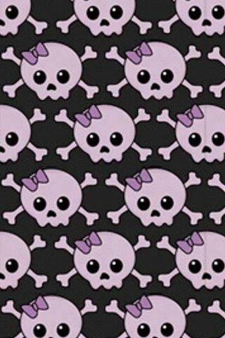 27 best skull wallpapers images on pinterest skull wallpaper purple skulls with bow and crossbones skull wallpaperphone backgroundssugar voltagebd Image collections