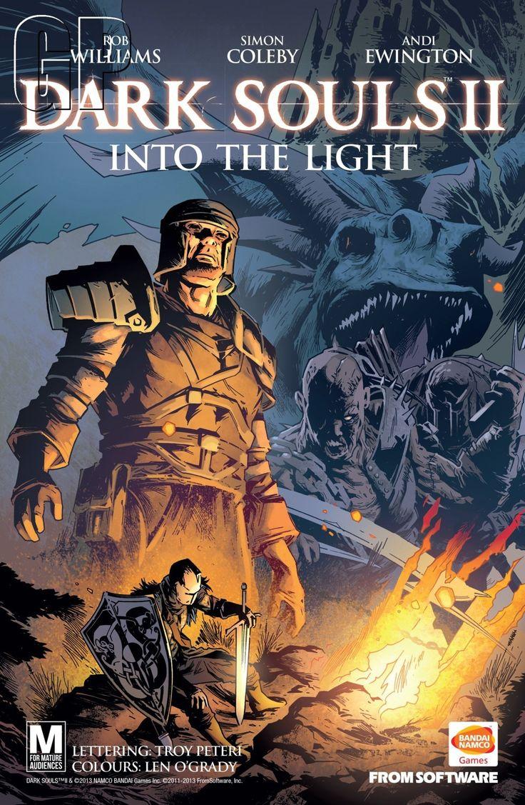 Dark Souls II A cover shot of the comic book. (Europe