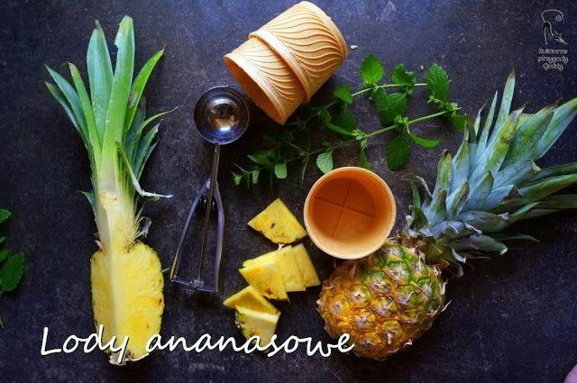 Kulinarne przygody Gatity: Domowe lody ananasowe