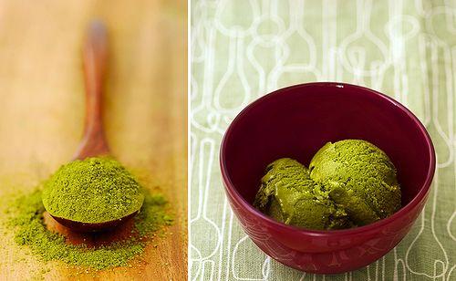 Recette Glace au thé vert - Glace au Matcha