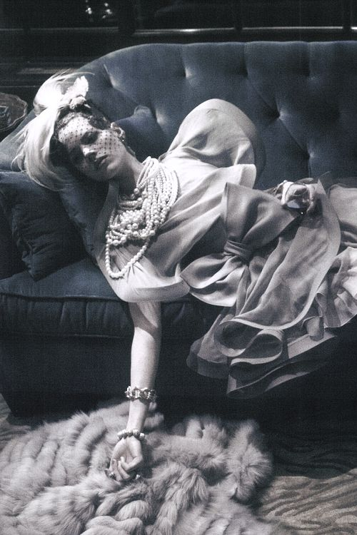 Freja Beha Erichsen photographed by Steven Meisel for Vogue Italia.