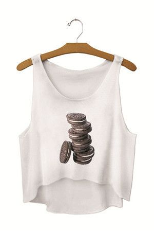 Summer Style 2017 New Women Crop Tops Cut Out Printed Emoji Tank Tops Knitted Sleeveless Tees SMV170