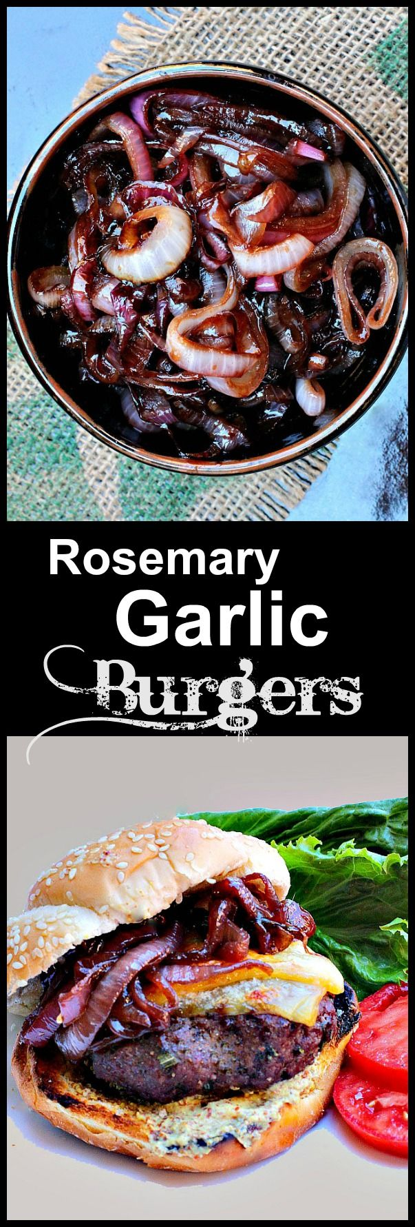 A burger recipe that you want and need. With wine caramelized red onions and hickory smoked gruyere. Add a grainy Dijon this is killer. via @lannisam