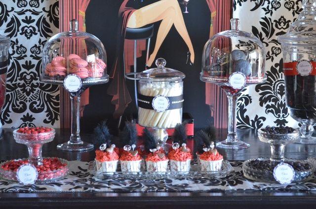 #burlesque party theme,  #party theme ideas, #catch my party