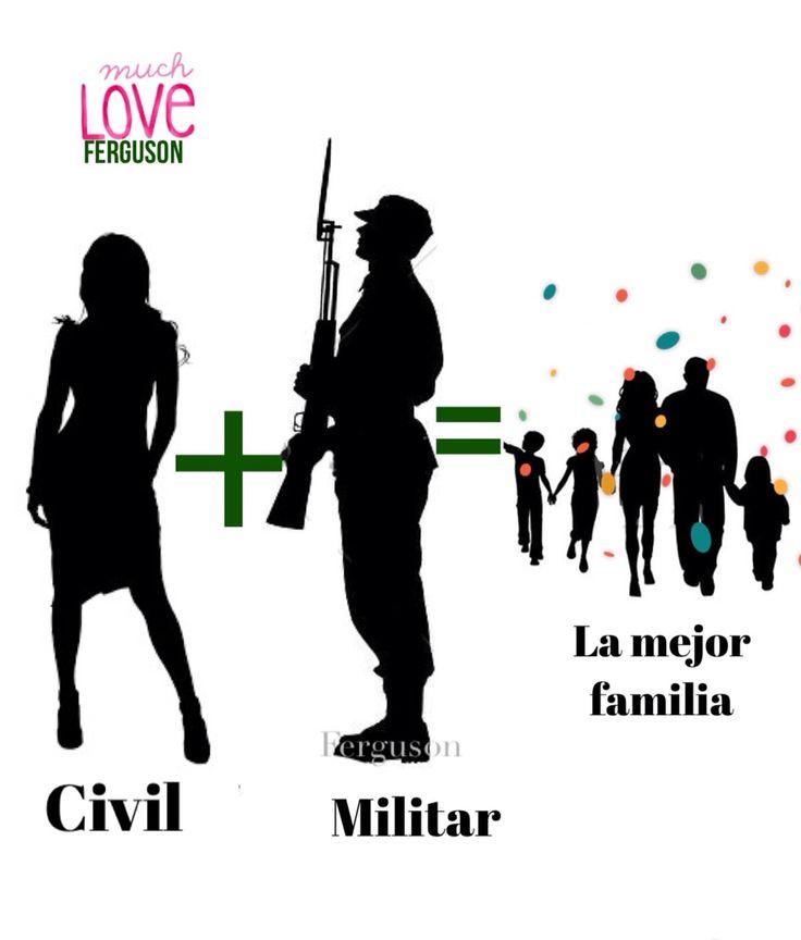 Una civil y un militar ... 1000% amor
