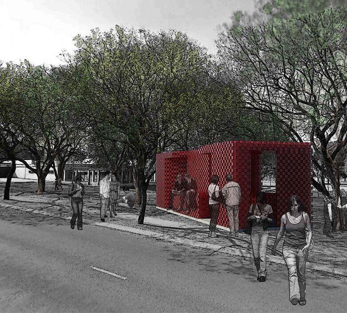 Pop-up Kiosk by Zama Thusi