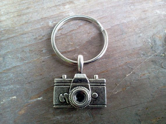 Camera Keychain Purse Key Fob Zipper Pull Backpack by RukaDoll, $3.99
