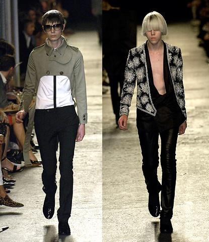 Dior Homme SS 2007. Designed by Hedi Slimane.