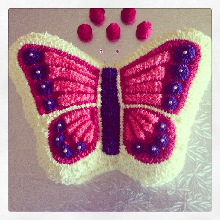 Butterfly Cake Pan Decorating Ideas : The 25+ best Butterfly birthday cakes ideas on Pinterest ...